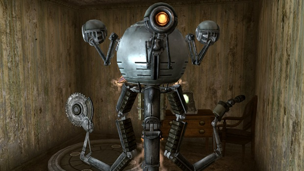 Как в фоллаут 4 сделать роботов