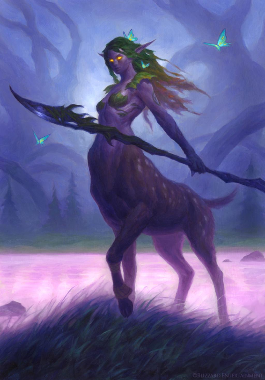 Warcraft dryad erotic naked image